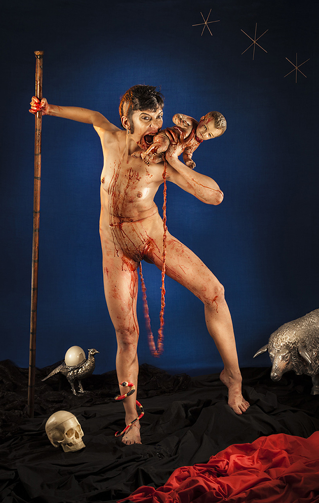 Saturna devorándose a su hijo / 2015