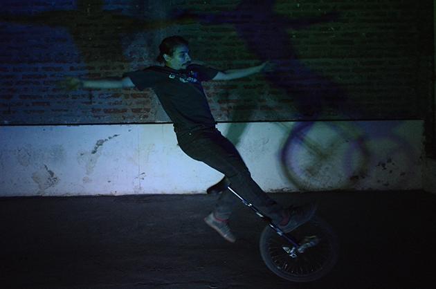 Marcielo Castillo en acción