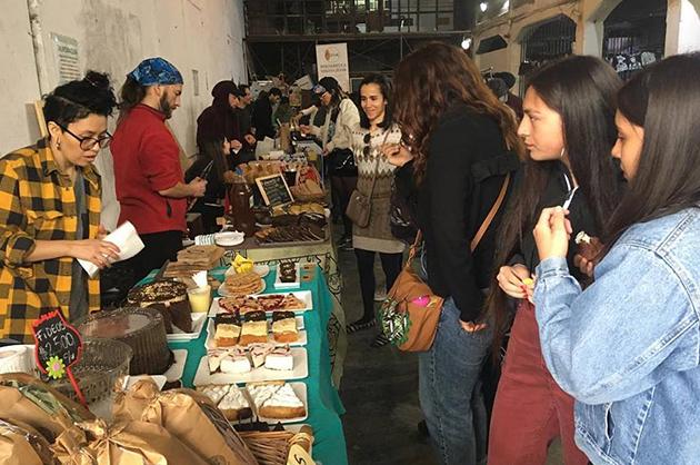 Más de 50 stands con variedad de productos vegetales