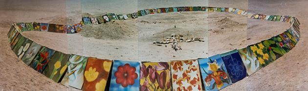 Con su acción de arte, Enrico Bucci reivindicó el dolor y la muerte