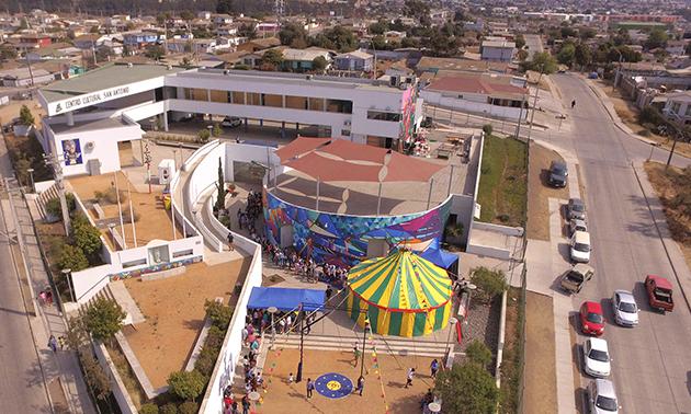 Puerto Visual / Centro Cultural de San Antonio
